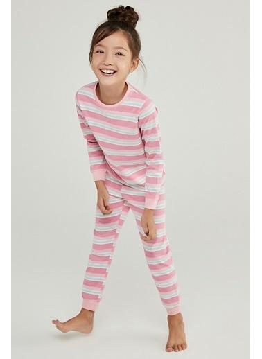 Penti Kız Çocuk Super Power 4Lü Pijama Takımı Renkli